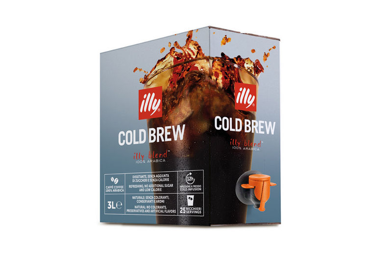 3d illy cold brew